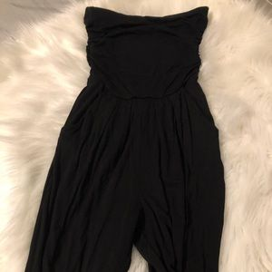 Strapless black body suit. Cute &' sexy!!